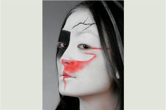 288529 visage fissure