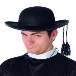 Chapeau cure feutre noir