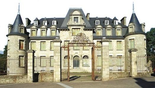 Chateau de lady mond belle isle en terre