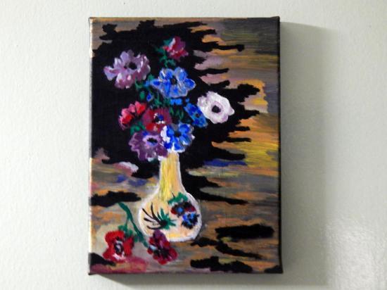 Vase anemones